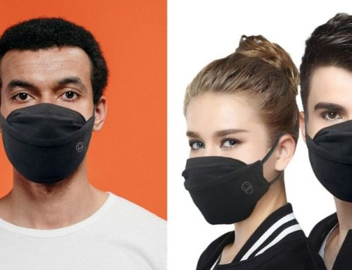 RibCap 2 Layer Reusable Face Mask