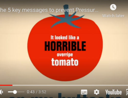 Video on the Pain of Having a Pressure Ulcer