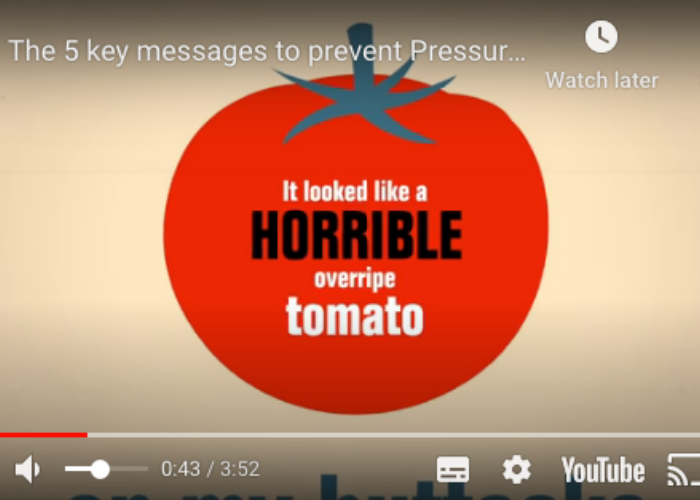 The 5 key messages to prevent Pressure Ulcers