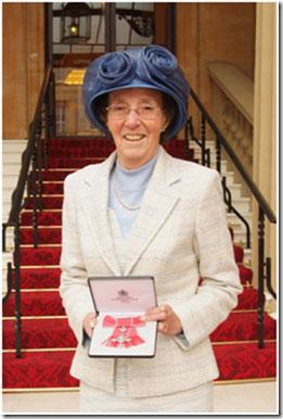 Judy Waterlow MBE