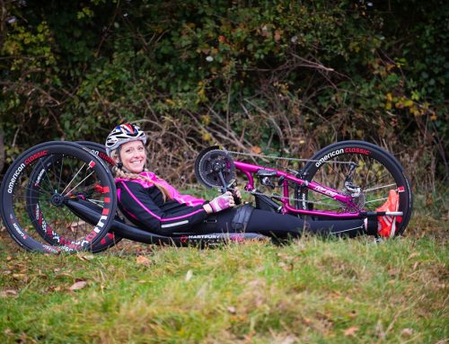 We Team up with Mel Nicholls, Inspirational Endurance Paralympian